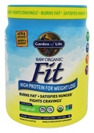 Garden of Life - RAW Organic High Protein for Weight Loss Original - 1 lb.