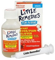 Image of Little Remedies - Infant Fever/Pain Reliever For Fevers Berry Flavor - 2 oz.