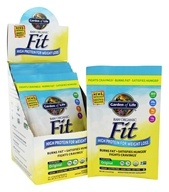 Garden of Life - Raw Fit High Protein for Weight Loss - 10 x 1.6 oz. Packets by Garden of Life