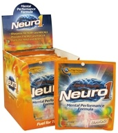 Image of Nutrition 53 - Neuro1 Mental Performance Formula Packet Chocolate - 31 Grams CLEARANCED PRICED