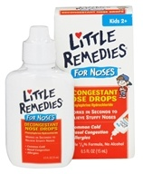 Little Remedies - Decongestant Nose Drops For Noses - 0.5 oz. (756184121054)