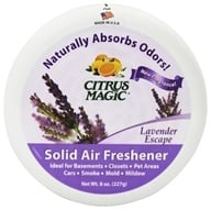 Citrus Magic - Solid Air Freshener Odor Absorbing Lavender Escape - 8 oz.