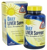 ReNew Life - Daily Liver Support - 60 Capsules, from category: Herbs