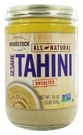 Woodstock Farms - All-Natural Sesame Tahini Unsalted - 16 oz., from category: Health Foods