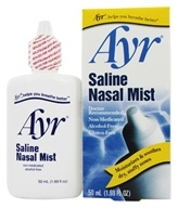 Ayr - Saline Nasal Mist - 1.69 oz., from category: Personal Care