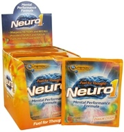 Nutrition 53 - Neuro1 Mental Performance Formula Packet Orange Cream - 31 Grams, from category: Sports Nutrition