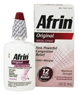 Afrin - Nasal Spray Original - 0.5 oz., from category: Personal Care