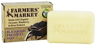 Farmers' Market - Bar Soap Blackberry Preserves - 5.5 oz. by Farmers' Market