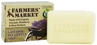 Image of Farmers' Market - Bar Soap Lavender Eucalyptus - 5.5 oz.