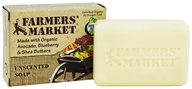 Farmers' Market - Bar Soap Unscented - 5.5 oz. by Farmers' Market