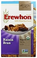 Erewhon - Organic Whole Grain Raisin Bran Cereal - 15 oz., from category: Health Foods