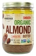 Woodstock Farms - Organic Almond Butter Smooth Unsalted - 16 oz. - $19.08