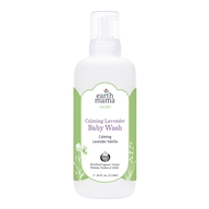 Image of Earth Mama Angel Baby - Shampoo & Body Wash Calming Lavender Vanilla - 1 Liter