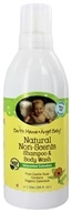 Earth Mama Angel Baby - Shampoo & Body Wash Natural Non-Scents Unscented Calendula - 1 Liter (857249001189)