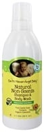 Earth Mama Angel Baby - Shampoo & Body Wash Natural Non-Scents Unscented Calendula - 1 Liter
