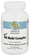 American Biologics - AB Multi Complex - 90 Capsules CLEARANCED PRICED - $13.60