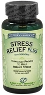 Earth's Bounty - Stress Relief Plus with Sensoril - 60 Vegetarian Capsules CLEARANCED PRICED - $9.60