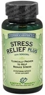 Earth's Bounty - Stress Relief Plus with Sensoril - 60 Vegetarian Capsules CLEARANCED PRICED (707990251008)