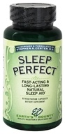 Earth's Bounty - Sleep Perfect - 60 Vegetarian Capsules, from category: Herbs