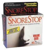 Green Pharmaceuticals - SnoreStop - 80 Chewable Tablets, from category: Homeopathy