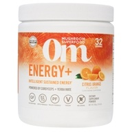 Om - Energy Powder Drink with Cordyceps & Reishi Citrus-Orange - 7.14 oz. Formerly NRG Matrix Natural Energy & Immune Support Powder Drink