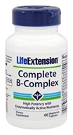Life Extension - Complete B-Complex - 60 Vegetarian Capsules by Life Extension