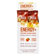 Om - Energy Powder Drink with Cordyceps & Reishi Citrus-Orange - 10 Packet(s) Formerly NRG Matrix Natural Energy & Immune Support