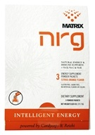 NRG Matrix - Natural Energy & Immune Support Powder Drink Citrus-Orange - 3 Packet(s), from category: Nutritional Supplements