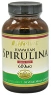 LifeTime Vitamins - Hawaiian Spirulina 600 mg. - 90 Vegetarian Capsules, from category: Nutritional Supplements