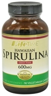 LifeTime Vitamins - Hawaiian Spirulina 600 mg. - 90 Vegetarian Capsules