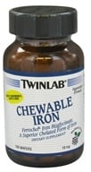 Twinlab - Chewable Iron Blackberry Flavor 18 mg. - 100 Wafers