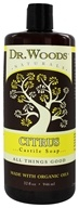 Image of Dr. Woods - Organic Castile Soap Citrus - 32 oz.
