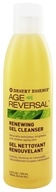 Desert Essence - Age Reversal Renewing Gel Cleanser - 6.4 oz. by Desert Essence