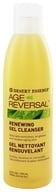 Desert Essence - Age Reversal Renewing Gel Cleanser - 6.4 oz. - $10.78