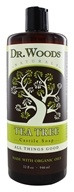 Image of Dr. Woods - Organic Castile Soap Tea Tree - 32 oz.