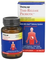 Twinlab - Time-Release Probiotic - 30 Tablets (027434039727)