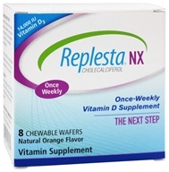 Everidis Health Sciences - Replesta NX Vitamin D Orange 14000 IU - 8 Chewable Wafers (602359460131)