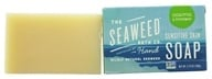 Seaweed Bath Company - Wildly Natural Seaweed Sensitive Skin Soap Eucalyptus & Peppermint - 3.75 oz. (858293002566)