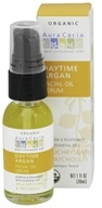 Image of Aura Cacia - Facial Oil Serum Daytime Argan Helichrysum & Patchouli - 1 oz.