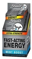 Image of Sheets - Energy Strips Extra-Strength Mint Boost - 8 Strip(s)