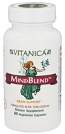 Vitanica - MindBlend Brain Support - 60 Vegetarian Capsules CLEARANCED PRICED by Vitanica