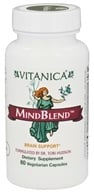 Vitanica - MindBlend Brain Support - 60 Vegetarian Capsules CLEARANCED PRICED