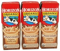Horizon Organic - Organic Low Fat Milk Box Chocolate - 3 Pack