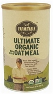 Farm to Table - Ultimate Organic Whole Grain & Oatmeal - 21 oz. by Farm to Table