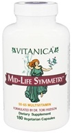 Vitanica - Mid-Life Symmetry - 180 Vegetarian Capsules, from category: Vitamins & Minerals