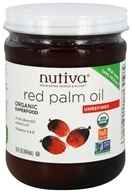 Nutiva - Organic Red Palm Oil - 15 oz. (692752103667)