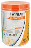 Twinlab - Clean Series Soy Protein Unflavored - 1.18 lbs. by Twinlab