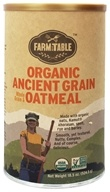 Farm to Table - Organic Whole Grain & Oatmeal Ancient Grain - 18.5 oz., from category: Health Foods