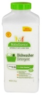 BabyGanics - Dishwasher Detergent The Dish Dazzler Fragrance Free - 40 oz.