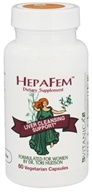 Image of Vitanica - HepaFem Liver Cleansing Support - 60 Vegetarian Capsules